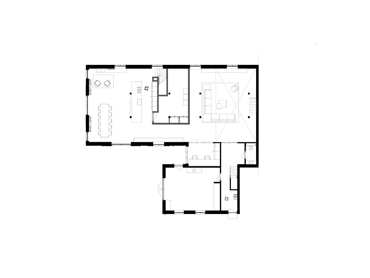 plattegrond ontwerp woonboerderij
