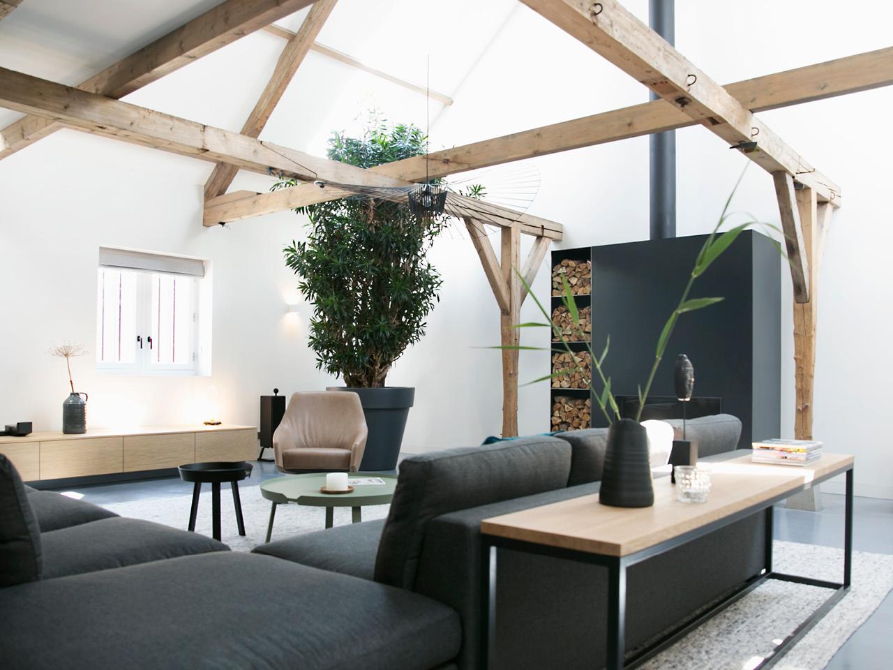 interieur woonboerderij ontwerp