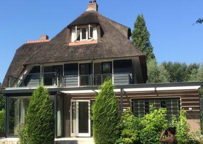 Uitbouw en renovatie villa
