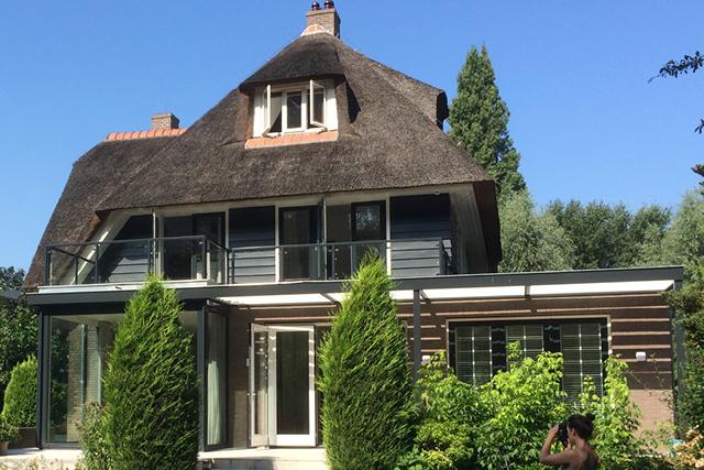 Oplevering verbouwing jaren '20 villa