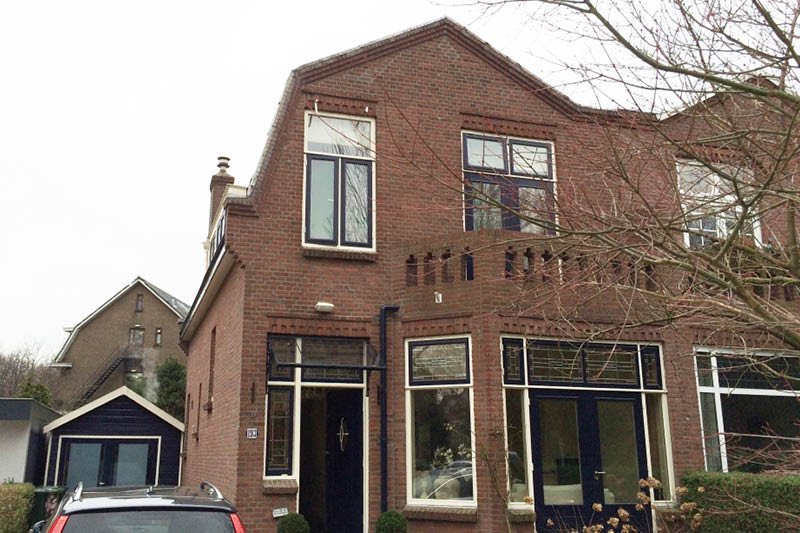 Uitbouw jaren '30 woning Rotterdam