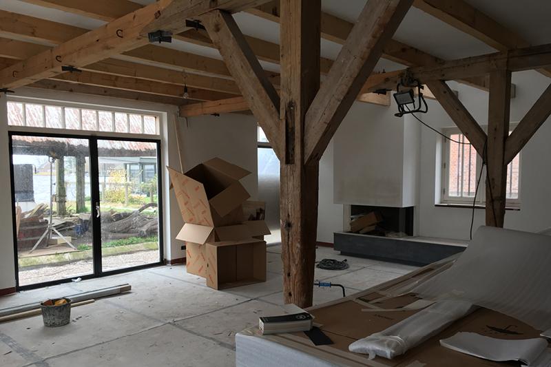 restauratie herenboerderij met Architecten aan huis